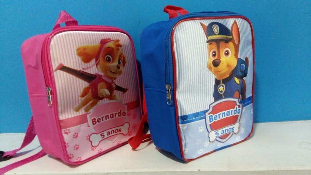 2759b727b 26 mochila infantil personalizada patrulhacanina skye e lobo. Carregando  zoom.