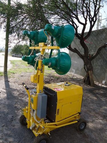26) oferta torre de luz kipor 4x400 3.5 kw 4 mts nueva