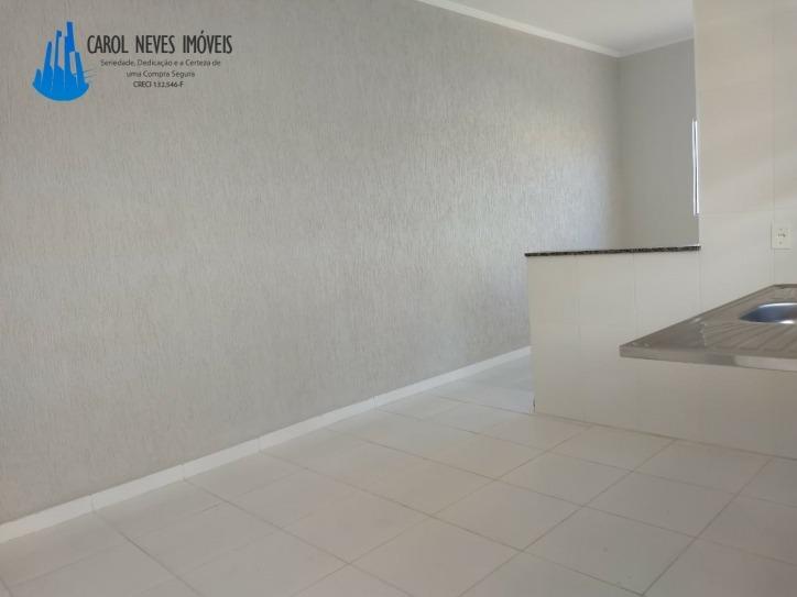 2651- casa nova a 550 metros da praia aceita financiamento