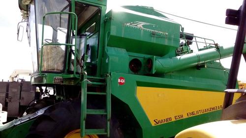 27) cosechadora de maiz nueva shifeng 4yz-6