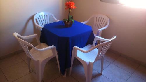 27 toalhas de mesa quadradas 1,50x1,50 oxford p festa/buffet