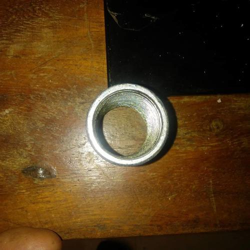 27 tubos de 3 mtrs 3/4 y 100 anillos