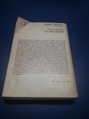 274 - les eigletiere - la malandre - henri troyat - 1967