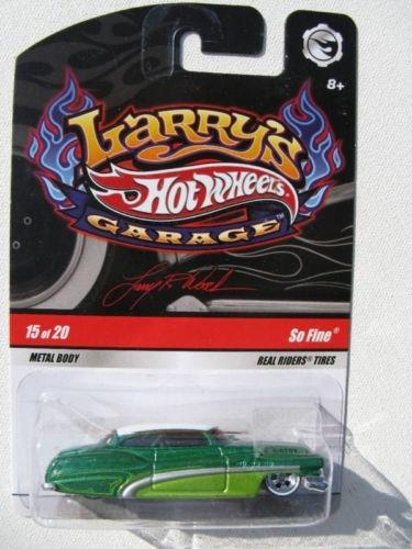 276 - hot wheels larry's garage so fine