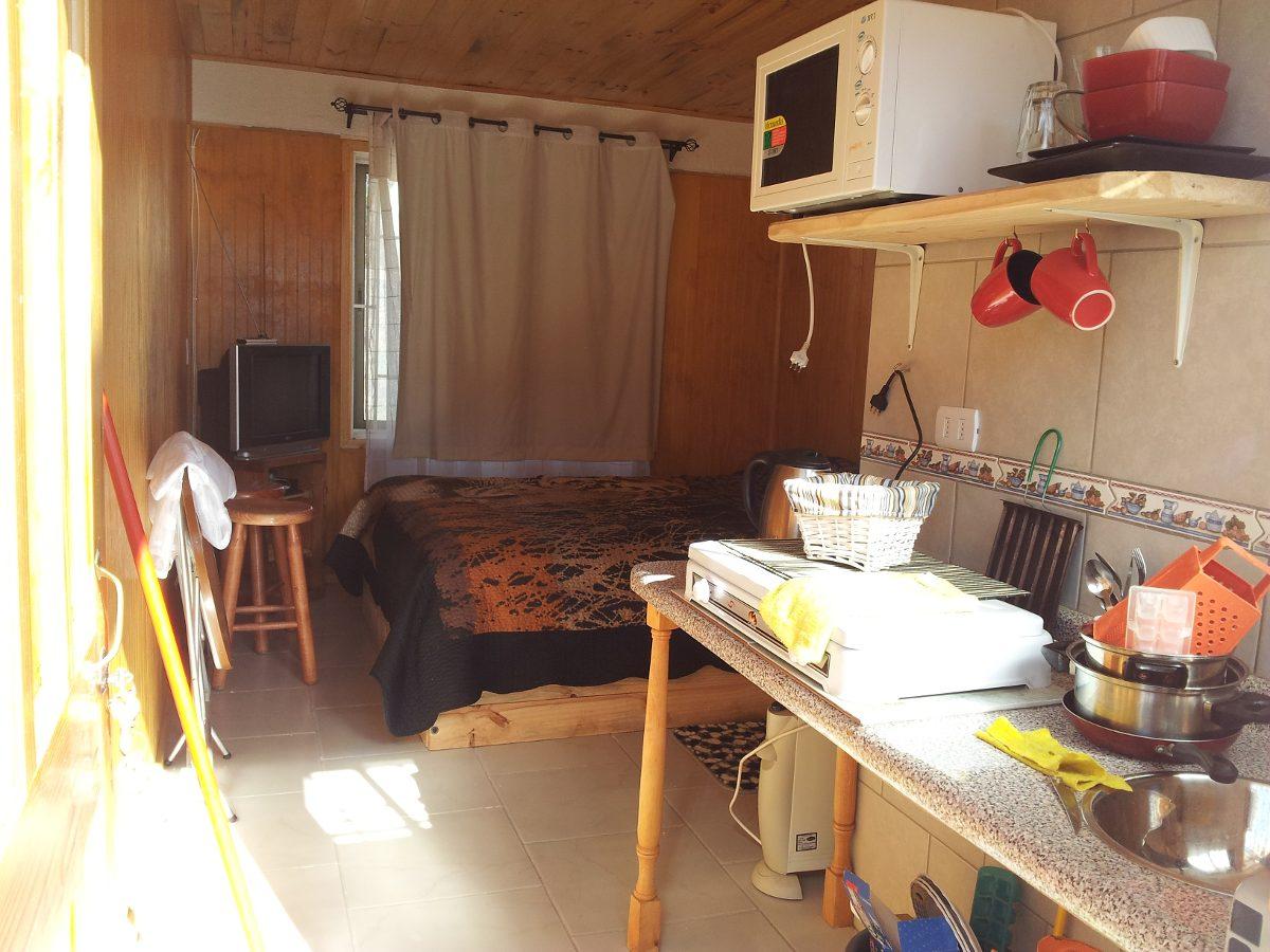 $28 mil cabaña 2 personas en punta de tralca