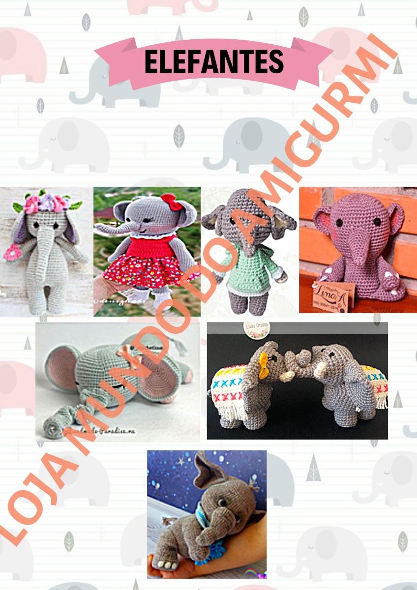 Elefante de crochê - Amigurumi - YouTube | 1200x848