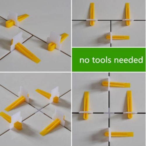 2800 azulejo nivelación sistema 2000 clips + 800 cuñas teja