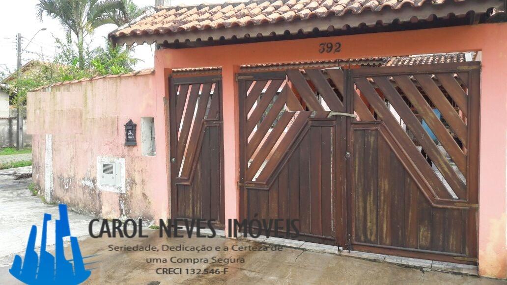 2802- casa lote inteiro em excelente bairro de itanhaém lado