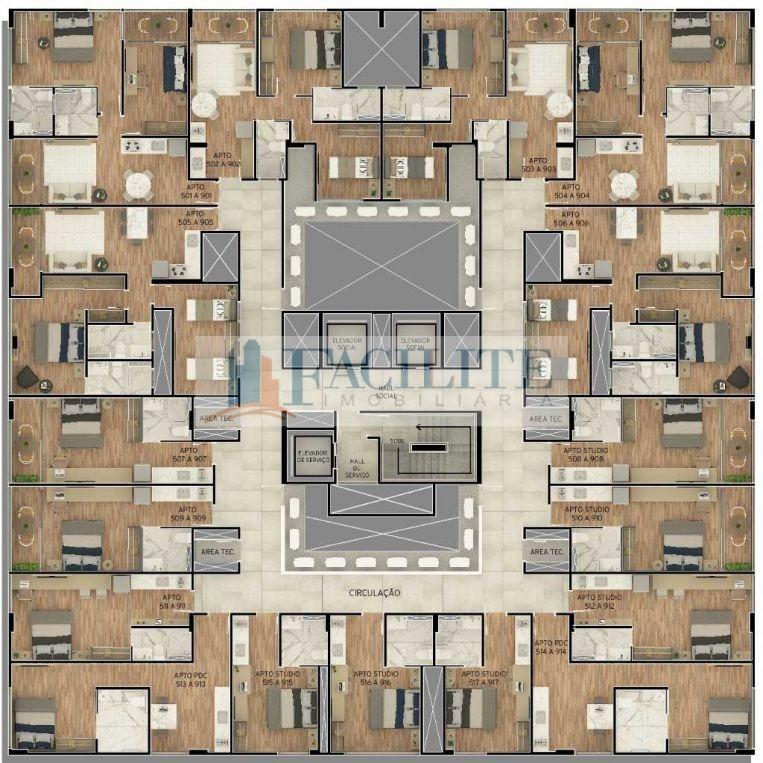 2825 - apartamento para vender,  tambaú, joão pessoa, pb - 2825-2700