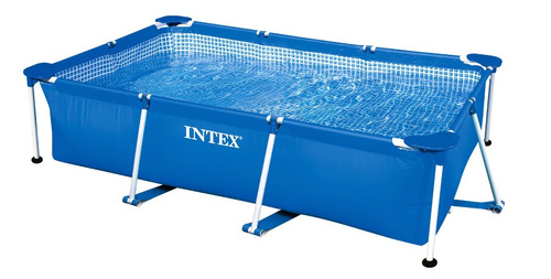 28272 piscina rigida intex 300cmx200cmx75cm casa/finca.