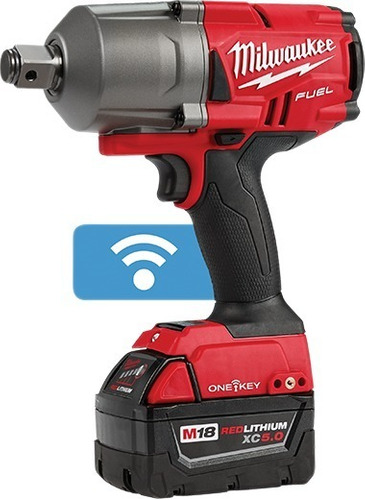 2864-259a llave impacto milwaukee 2 baterias 18v 3/4 fuel