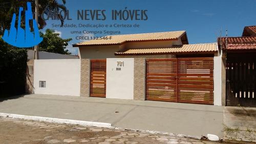 2874- casa isolada nova linda pronta para morar!
