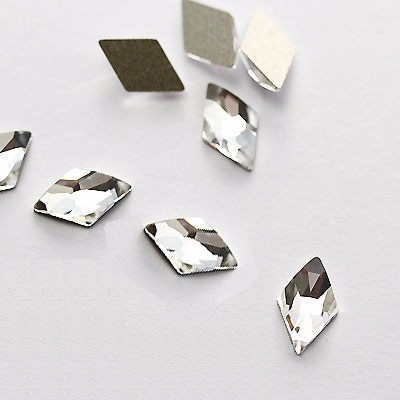 288 pz swarovski rombo 2709 original figuras cristal uñas