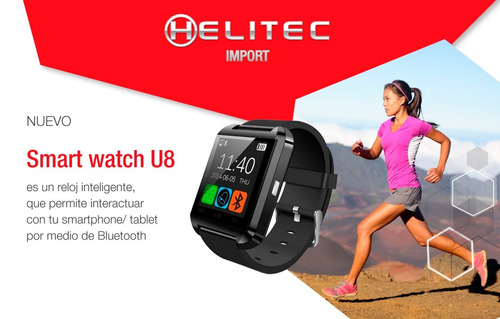 29% descuento reloj inteligente smart watch u8 android