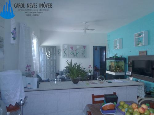 2907- excelente casa com ótima localização em mongaguá!