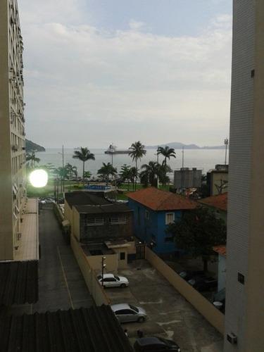 294 - santos - ponta da praia - apartamento - vista mar