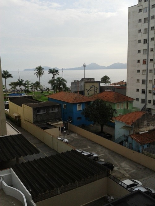 294 - santos - ponta da praia - apartamento - vista mar