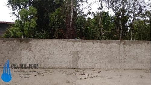 2949- lote inteiro murado aterrado itanhaém