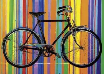 29541 arte bicicleta lempert rompecabezas 1000 piezas heye