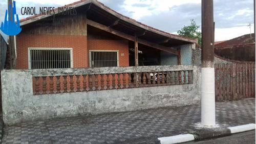 2966- linda casa isolada com edicula lado praia!