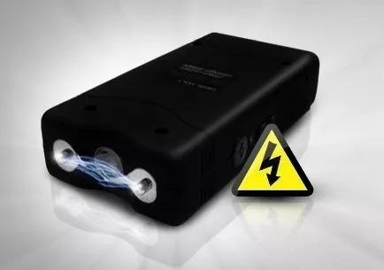 299 milhões volts arma choque taser lanterna tatica aparelho