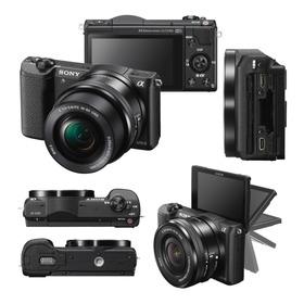 29.900- Sony Ilce Alpha A5100 E Aps-c 24,3 Mp + Selp16-50