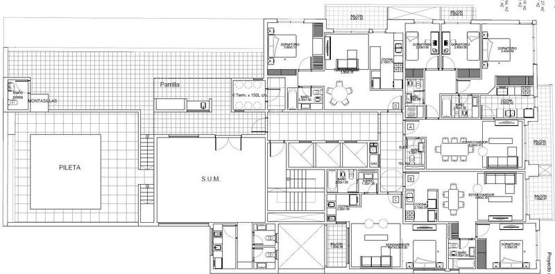 2amb categoria - amenities - tronador 3900 - posesion julio 2020
