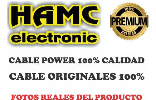 2cable power interlock alimentación 220v normalizado