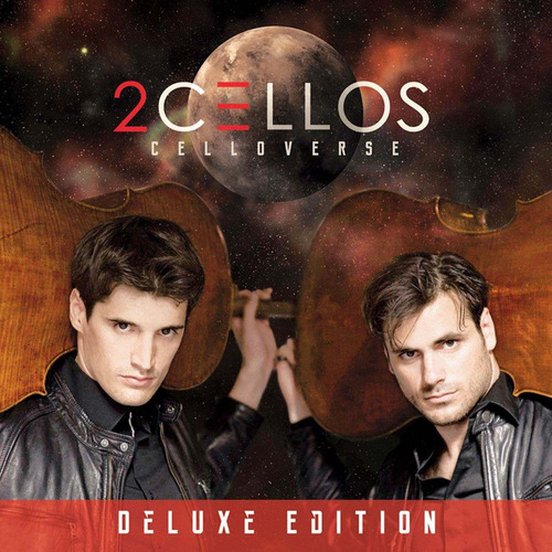 2cellos celloverse disco cd deluxe con 13 canciones