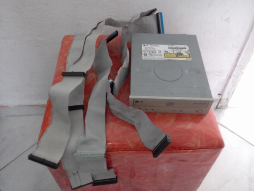 2drive dvdrw 1leitor cartão 1 floppy 4 cabo flat 1 swith vga