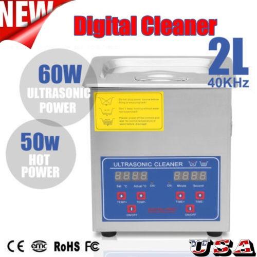 2l máquina limpiador ultrasónica digital profesional con