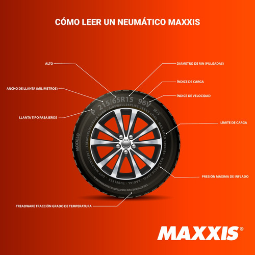 2llantas atv/utv 32x/10.00r15 maxxis ml3 liberty tm00973100
