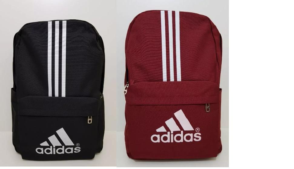 0a697d92d 2mochila adidas esportiva escolar vermelha e preta e171. Carregando zoom.