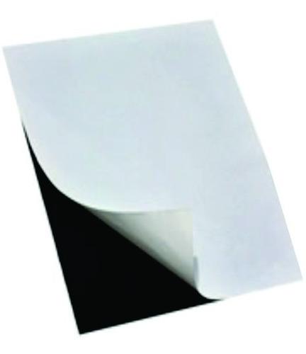 2mx30cm metros imã manta magnética adesivada 0,3mm