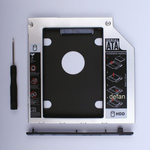 2nd disco duro sata hdd ssd caddy ibm lenovo idealpad
