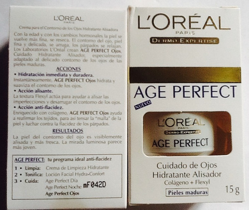 2pack age perfect contorno de ojos