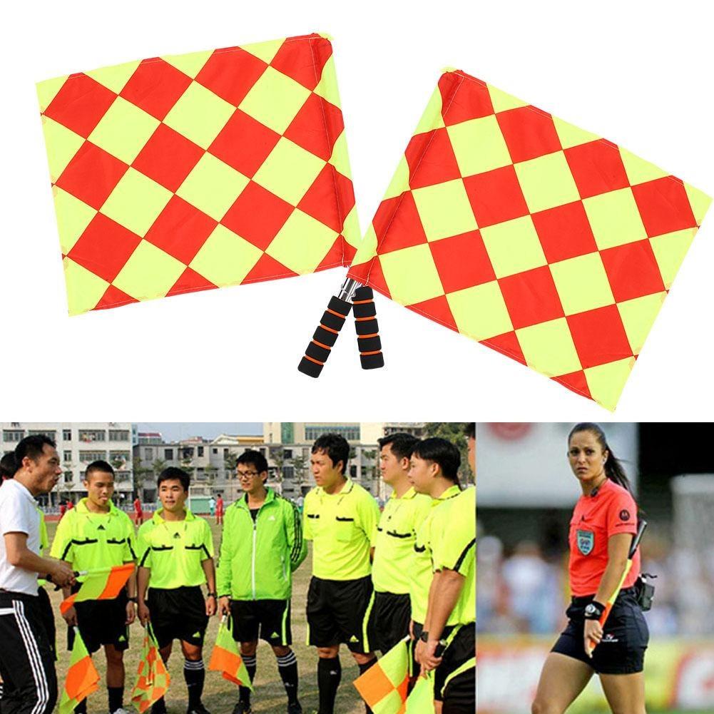 Deporte Fútbol Partido Árbitro 2pcs Bolsa Linesm wvmN08OynP
