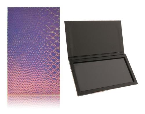 2pcs cajas vacías magnéticas de maquillaje almacenamiento