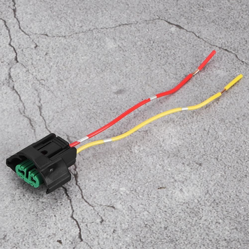 Conector Hembra de Bombilla 2 Piezas Coche Moto ABS Pl/ástico Hembra Adaptador Enchufe Cableado Base L/ámpara Soporte Cable Conector para H8 H9 H11