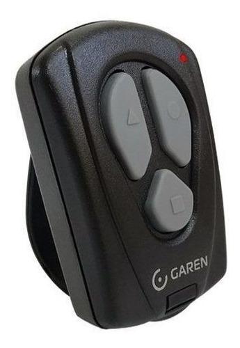 2pcs controle remoto portão garen original 3 botoes com flip