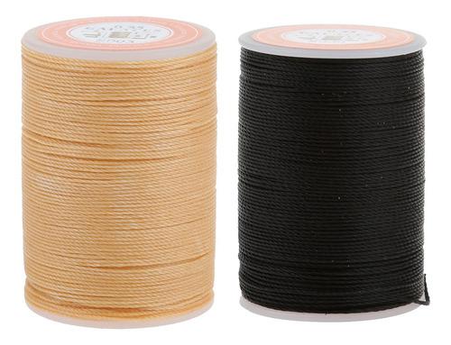 2pcs hilos de abalorios coser de cuero herramienta de arte