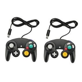 2pcs Mango Largo Pad Pad Controller Para Nintendo Gamecube G