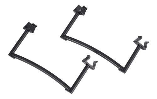 2pcs pés de trem de pouso apoio gimbal proteção para dji spa