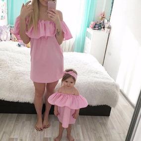descuento más bajo niño mitad de descuento Vestidos Para Mama E Hija Iguales - Vestidos Cortos para ...