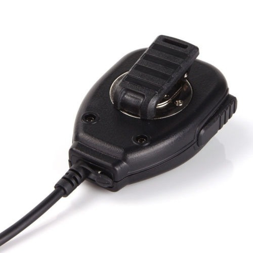 2pin ptt altavoz portátil mic micrófono para baofeng kenwood