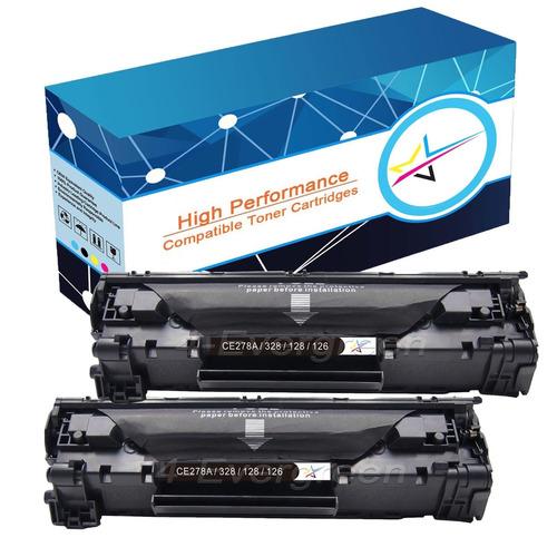 2pk toner crg-128 w/chip para canon 128 imageclass mf4570dw