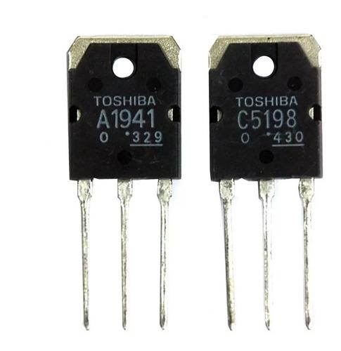 2sa 1941 2sc 5198 2sa1941 2sc5198 par de transistores