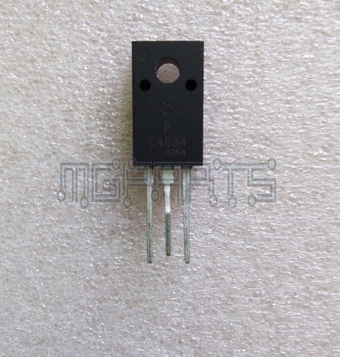 2sc4834 2sc4834p C4834 Power Transistor 8a 500v Cb 29136