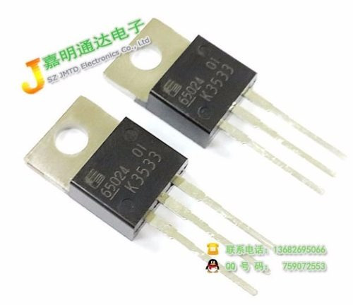 2sk3533-01 k3533 to-220 n-channel silicon power mosfet