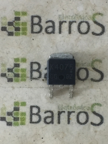2sk4075 / k4075 / 4075 n-ch 40v 60a smd to252
